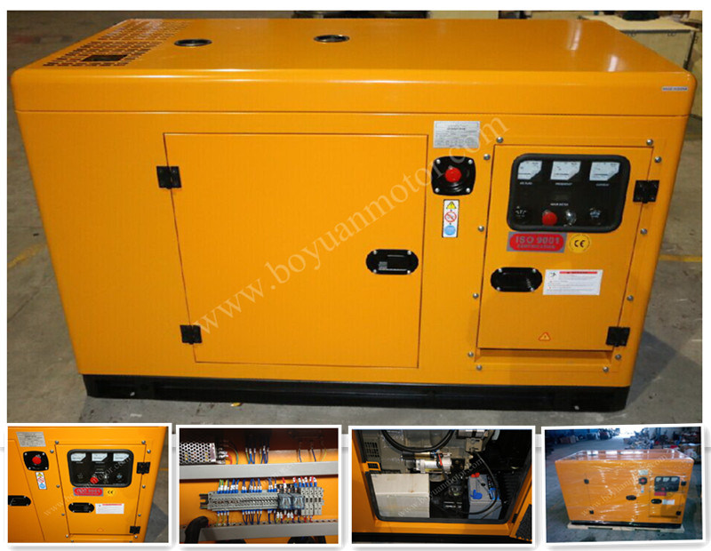 Weifang Engine Silent Diesel Genset 50kw