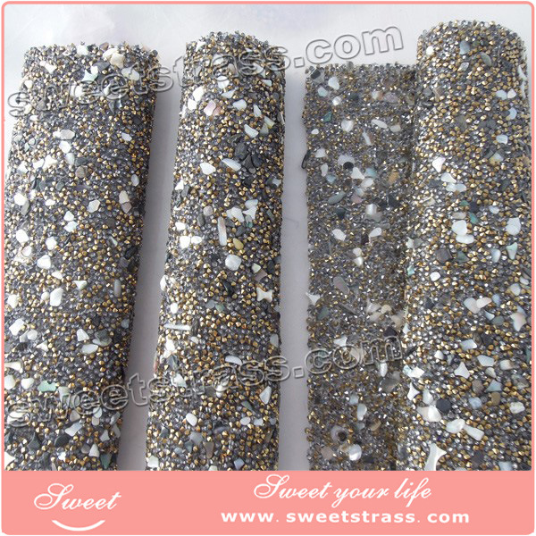 New Arrival Stone Mesh Hotfix Style for Decorations