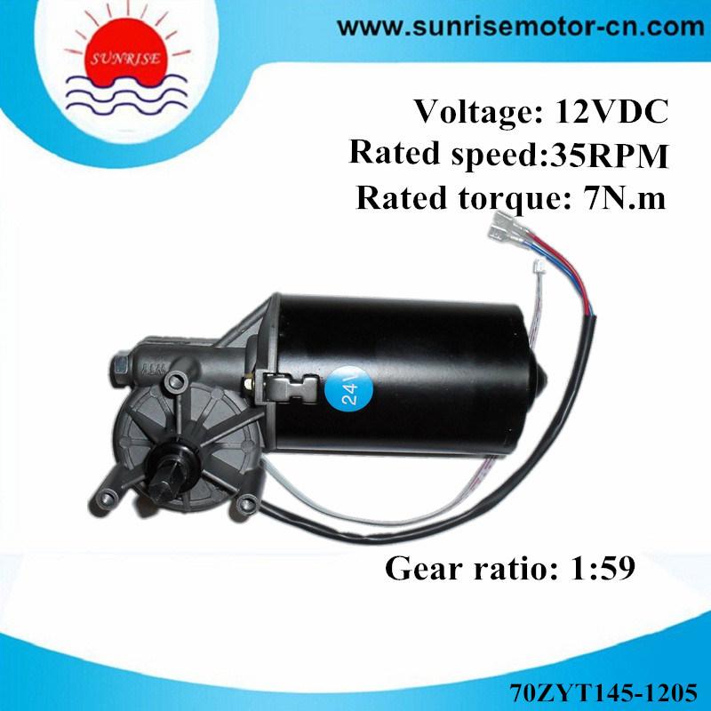 70zyt145-1205 12VDC 7n. M Garage Door Opener DC Motor