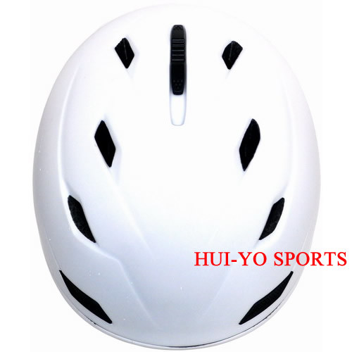 in-Mold Snow Helmet, Adult Skiing Helmet, White Ski Helmet, Racing Snowboard Helmet