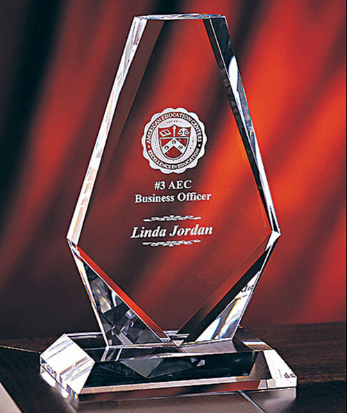 Hot Sales Personalized Crystal Achievement Trophy Award