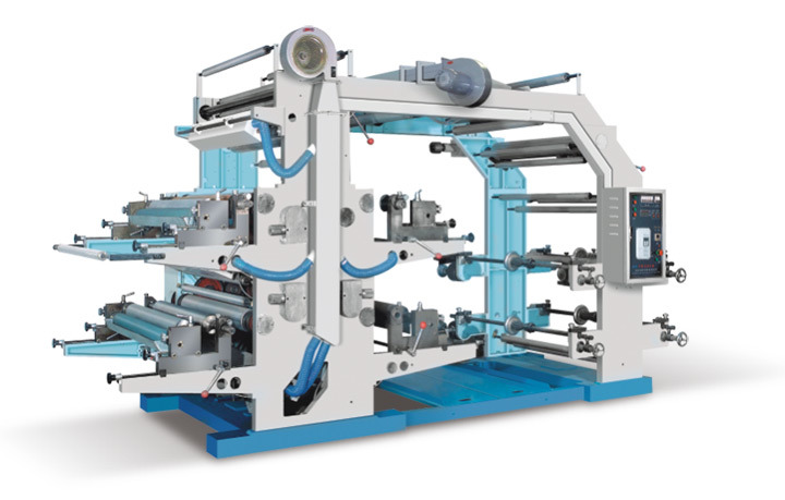 Four Color Printer Flexography Printing Machine