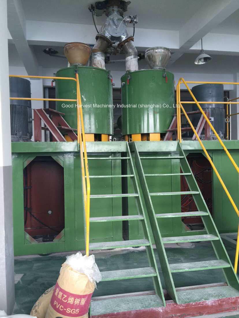 Super Mixer for Calender Line Making Plant Euqipment
