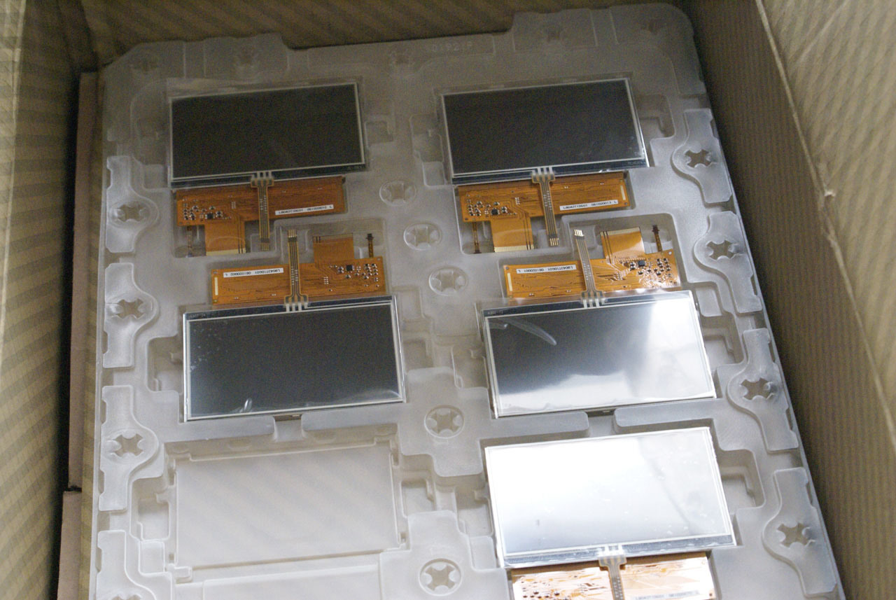 """Lq043t1dg01 4.3"""" TFT LCD Screen with Touch Panel"""