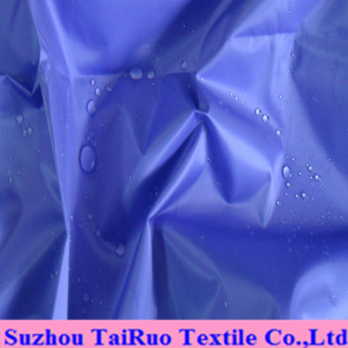 100% Polyester Taffeta with Waterproof for Raincoat Fabric
