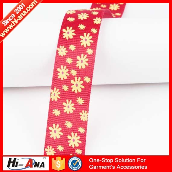 Familiar in OEM and ODM Top Quality Grosgrain Ribbon Printer