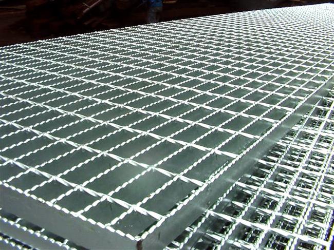 Steel Bar Mesh Gratings / Galvanized Walkway Panel