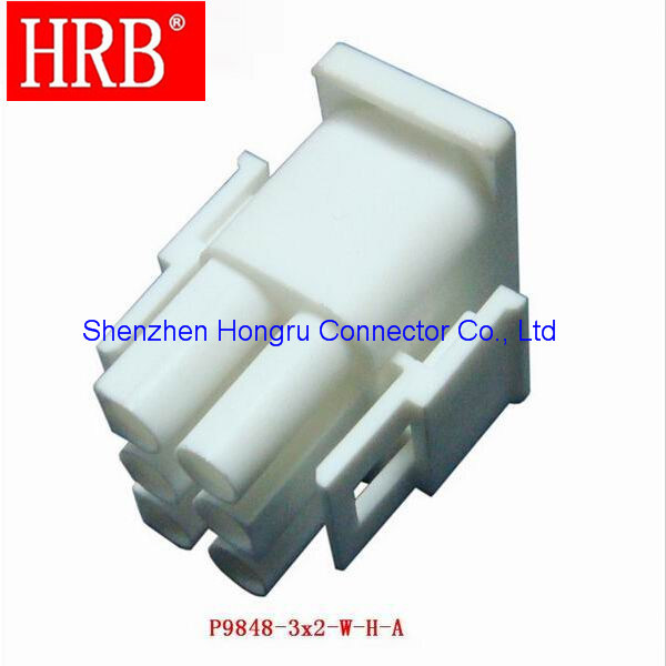 6.35 Pitch Wrie to Wire Plug Housing Connectors