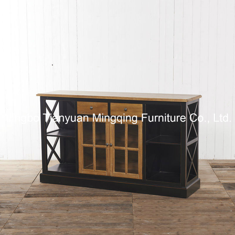Stereoscopic Delicate Cabinet Antique Reproduction Furniture