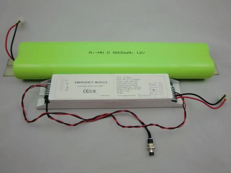36W LED Driver Emergency/LED Driver Emergency for 36W LED Linear Lighting