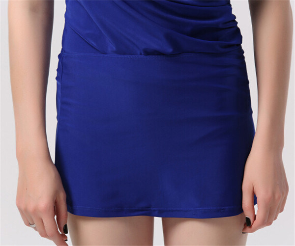 Hot Sexy Women′s Slimming Swimsuit with Removeable Skirt (14355-1)