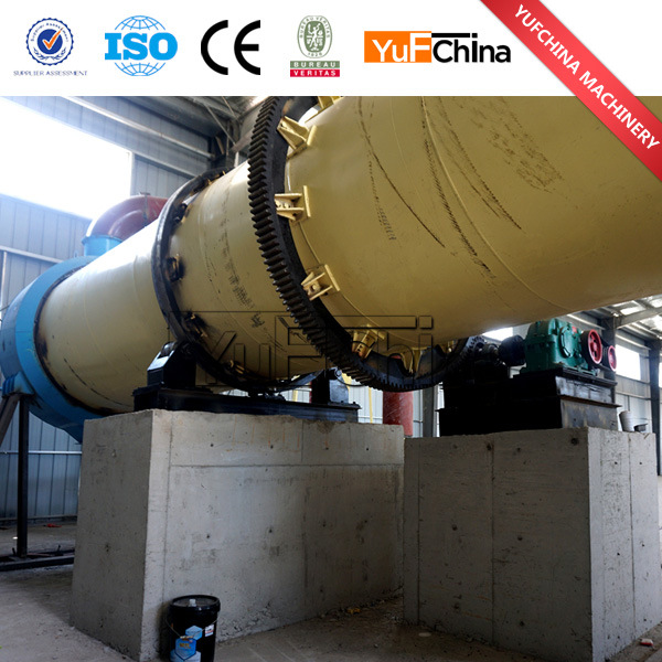 Durable and Efficient Rotary Dryer From Henan