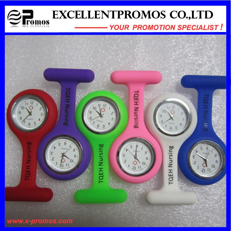 Hot Sale Good Quality Silicone Clip Nurse Watch (EP-W58409)