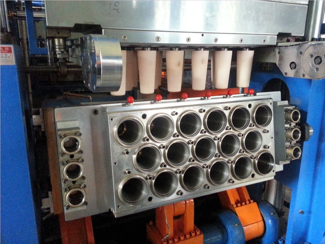 Instant Coffee Plastic Cup Forming Machine (PPTF-70T)