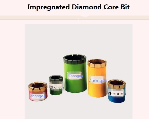Impregnated Diamond Core Bits Aq Bq Nq Hq Pq