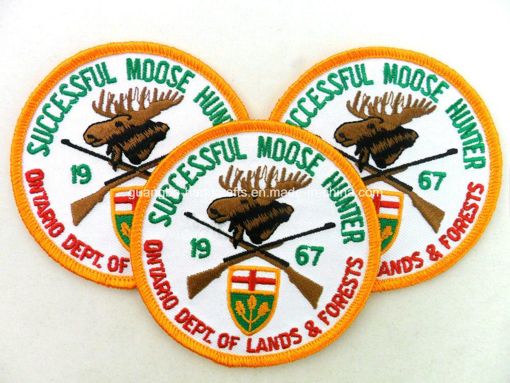 Irregular Markings Association Custom Embroidery Design (MA-1002)