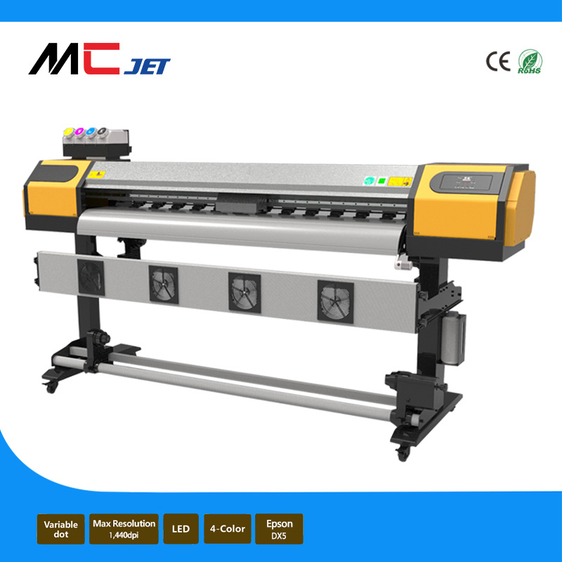 China M Eco Solvent Vinyl Sticker Printing Machine With Epson - Vinyl decal printing machine