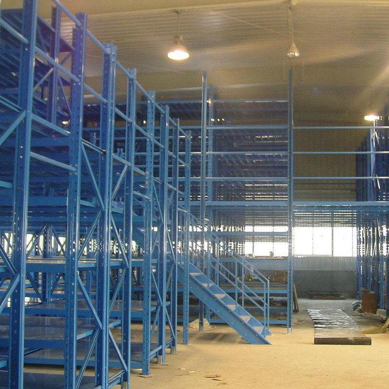 Multi Layer Shelf Style Selective Warehouse Mezzanine Rack