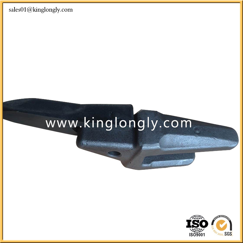 Forged Excavator Bucket Teeth Adapter Spare Parts for Construction Machinery