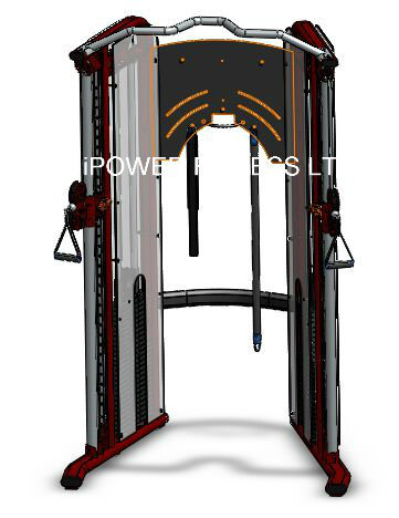 Dual Adjustable Pulley, Functional Trainer, Dual Pulley System