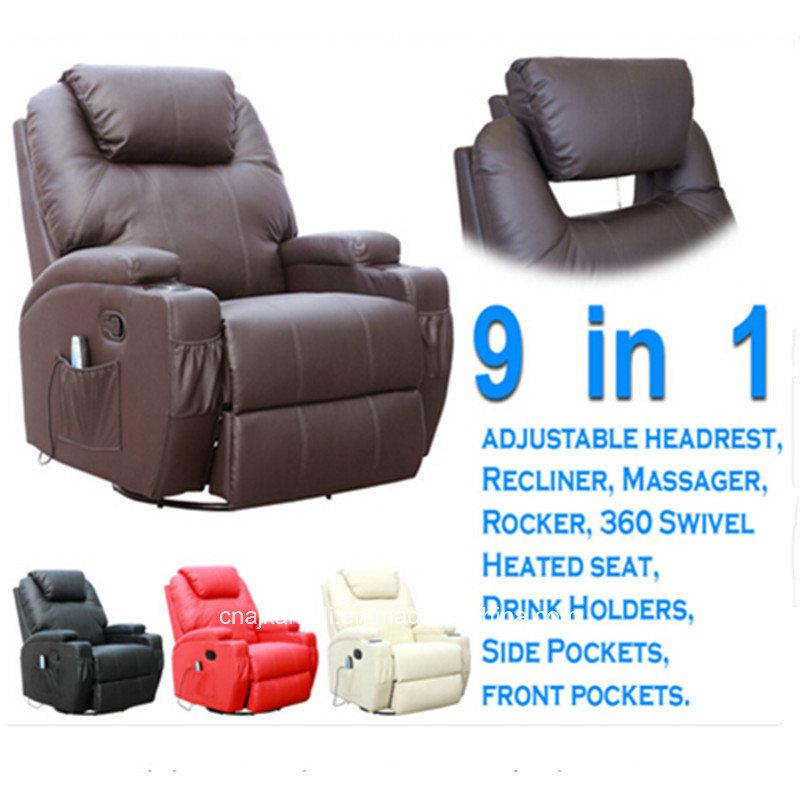 Kd-Ms7028 8 Point Vibration Massage Recliner/Massage Sofa/Massage Armchair