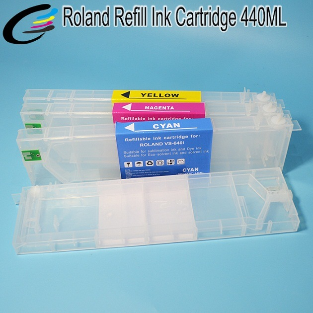 Roland Versacamm Sp-540I Sp-300I Printer Ink Cartridge with Eco Sol Max Ink Refill