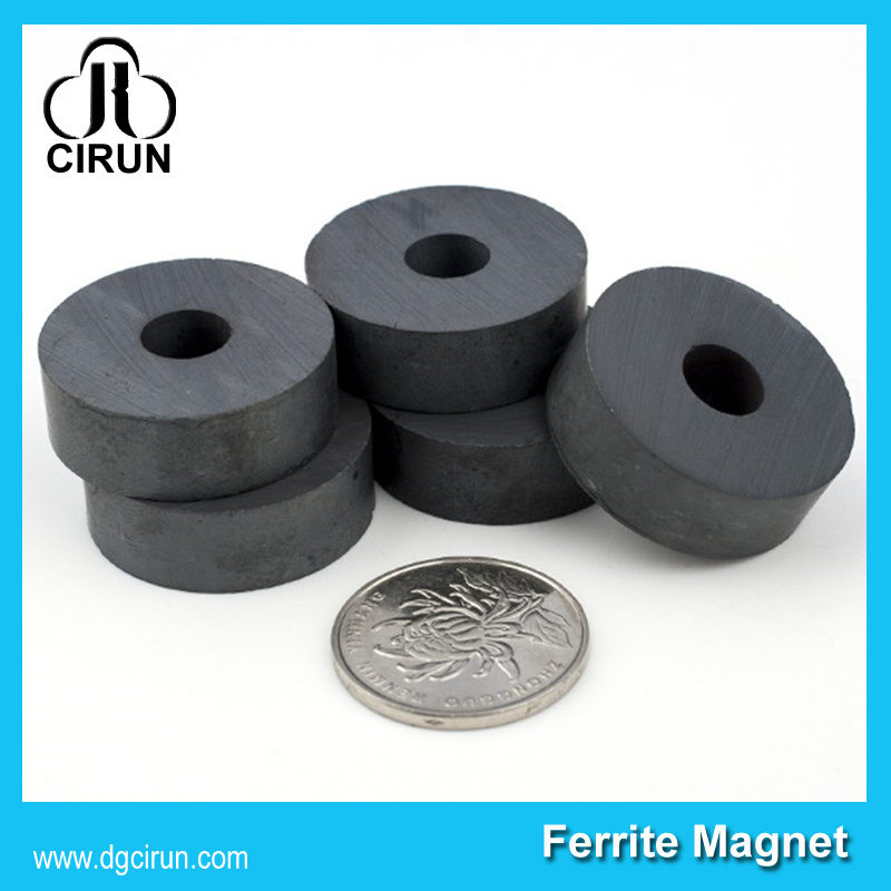 Custom Size Rare Earth Permanent Speaker Ring Ferrite Magnet