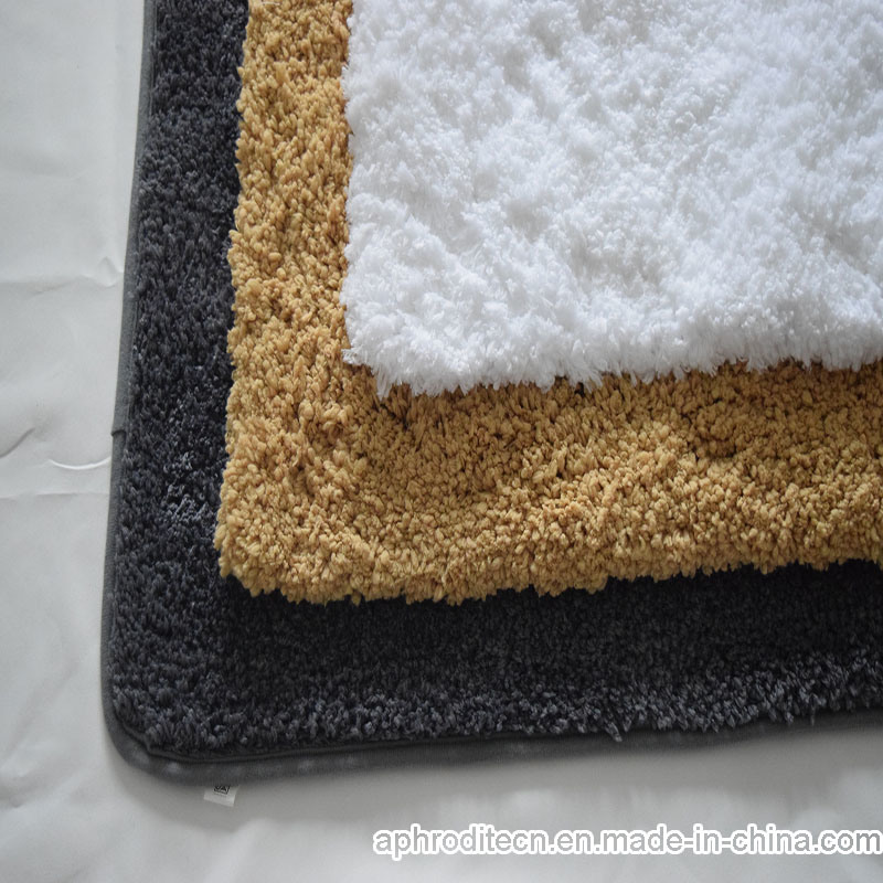 Decorative Shag Tufted Polyester Area/Door/Bath Rug