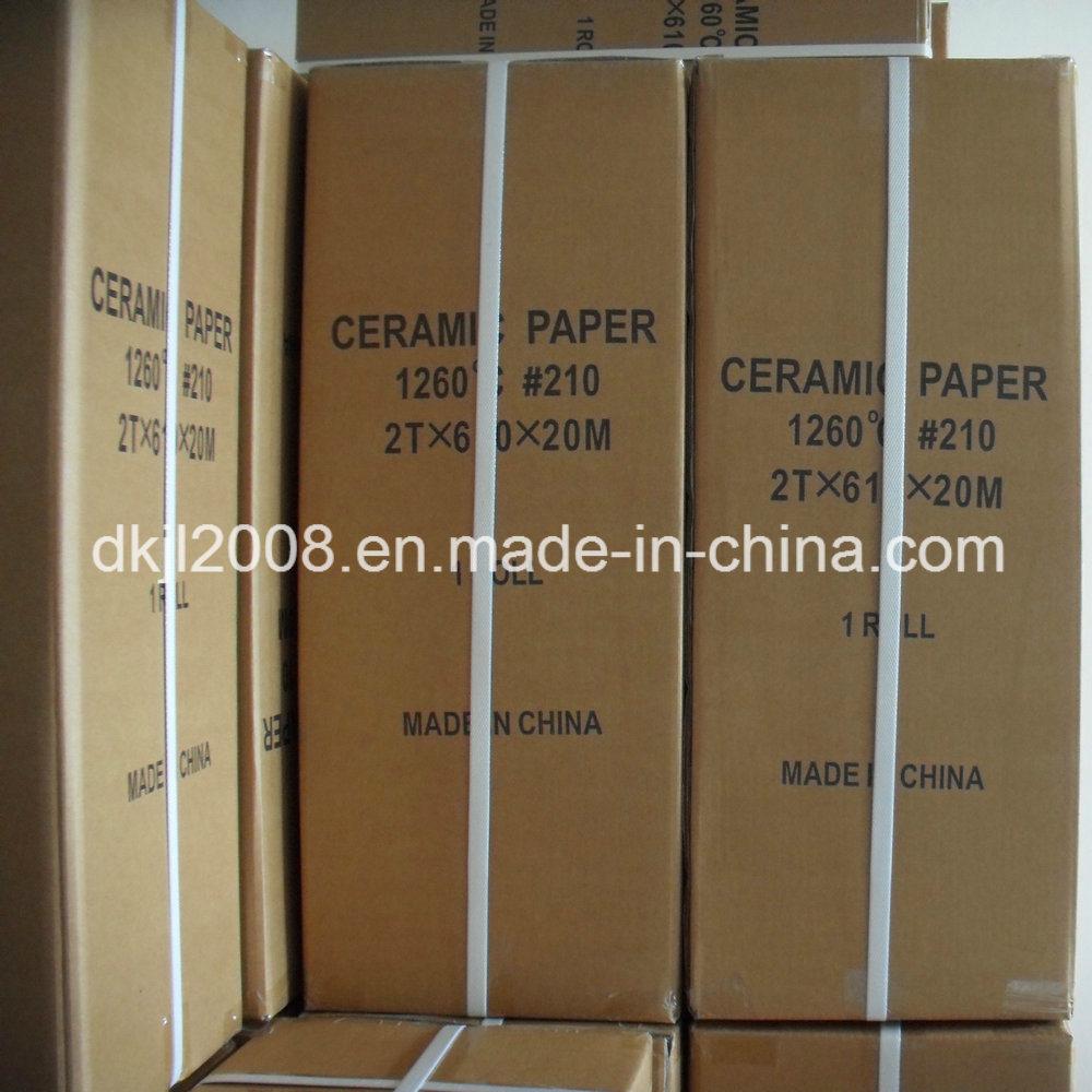 1260 High Pure Ceramic Fiber Paper for Furnace Heat Insulation
