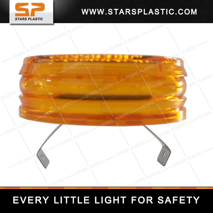 Solar Traffic Flash Light with Bright LED