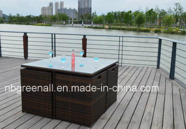 Hot Sale Square Table Dining Set for Outdoor