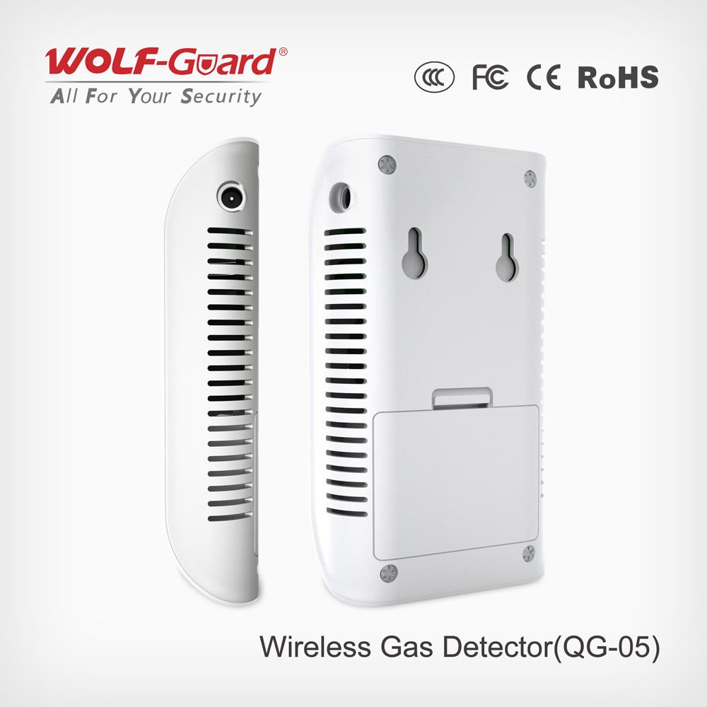 2016 Wireless Gas Detector New LCD Gas Sensor Qg-05
