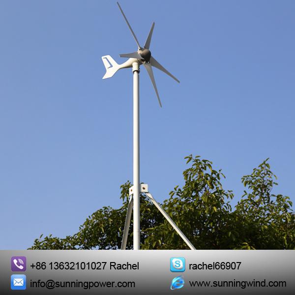 Small Wind Turbine Generator for Boat (MINI-5-400W -24V)
