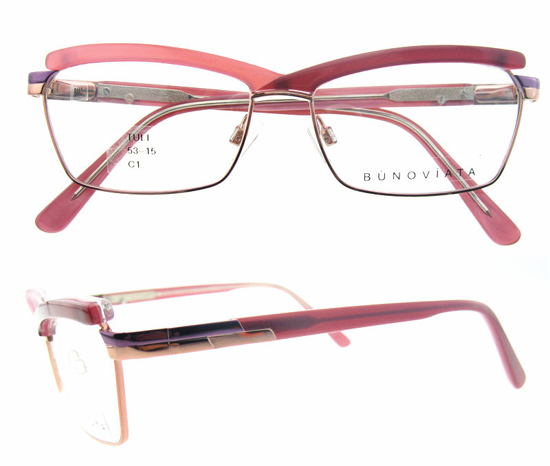 Latest Glasses Frames New Arrival Fashion Style New Metal Optical Frame Fashion Eyewear for Woman
