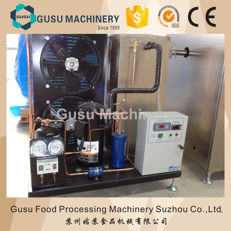 Ce Approved Gusu Snack Food Chocolate Tempering Machine Manufacture