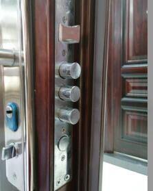 Yuanzheng Hot Sale Security Steel Door