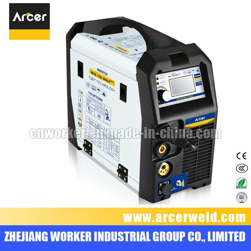 DC Inverter Multi-Process MIG/TIG/MMA Welding Machine