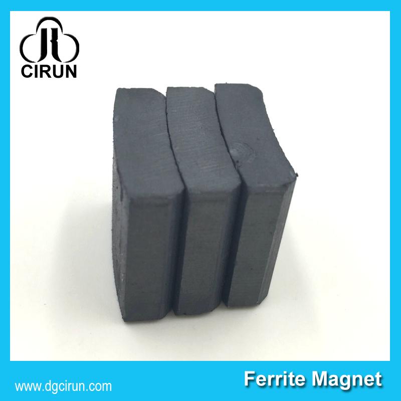 Arc Shape Ferrite Motor Magnet for Ceiling Fan