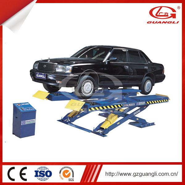 Guangli Brand Stationary Hydraulic Scissor Car Lift for Sale