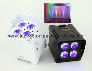 Freedom DJ Battery PAR Can Uplight 4X18W RGBWA UV 6 in 1 DMX Wireless IR LED Uplight