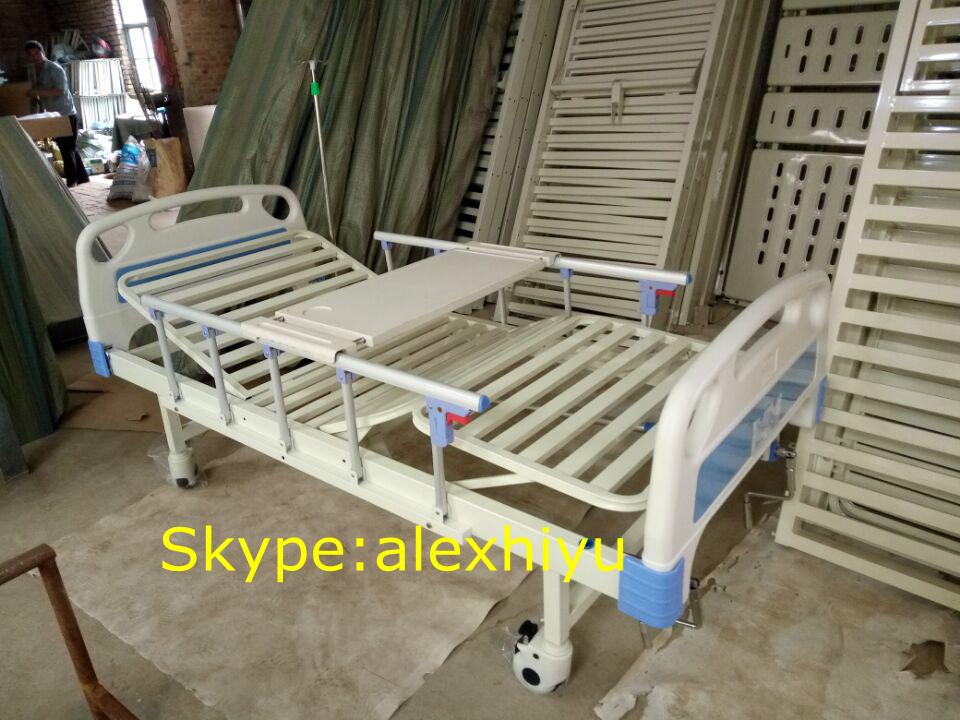 2 Crank Manual Hospital Bed Three Function Manual Hospital Bed