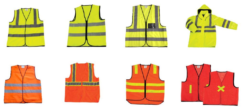 High-Visibility Reflective Safety Vest (HX-D30)