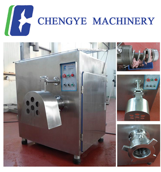 Chicken Frozen Meat Grinder Meat Mincer Sjr130 1200kg Per Hour