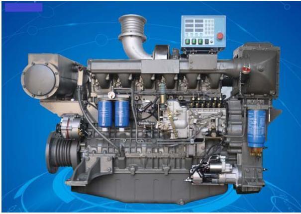240- 294kw Advance Ad12 Marine Engine