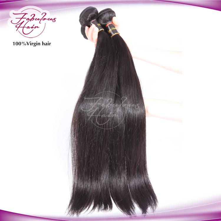 8A Natural Human Virgin Brazilian Hair Weave Remy Hair