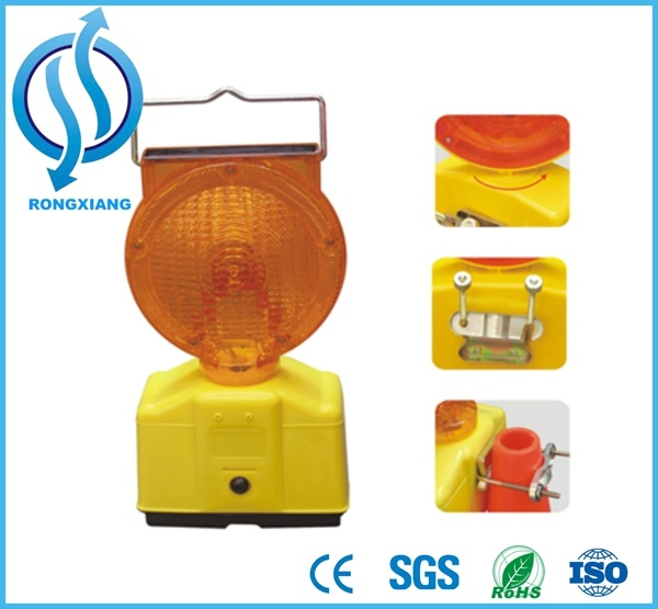 Safety Flashing LED Warning Light for Road Barricade