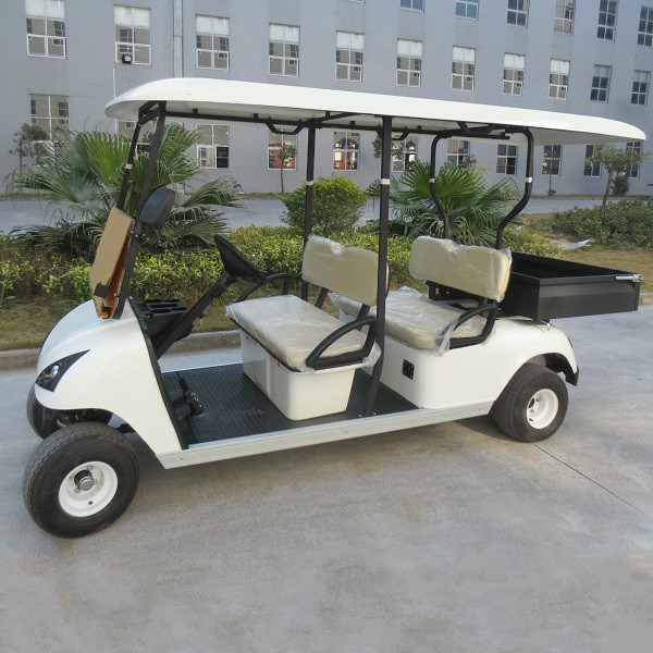 4 Seater Electric Golf Utility Vehicle with Cargo Box (Du-G4S)