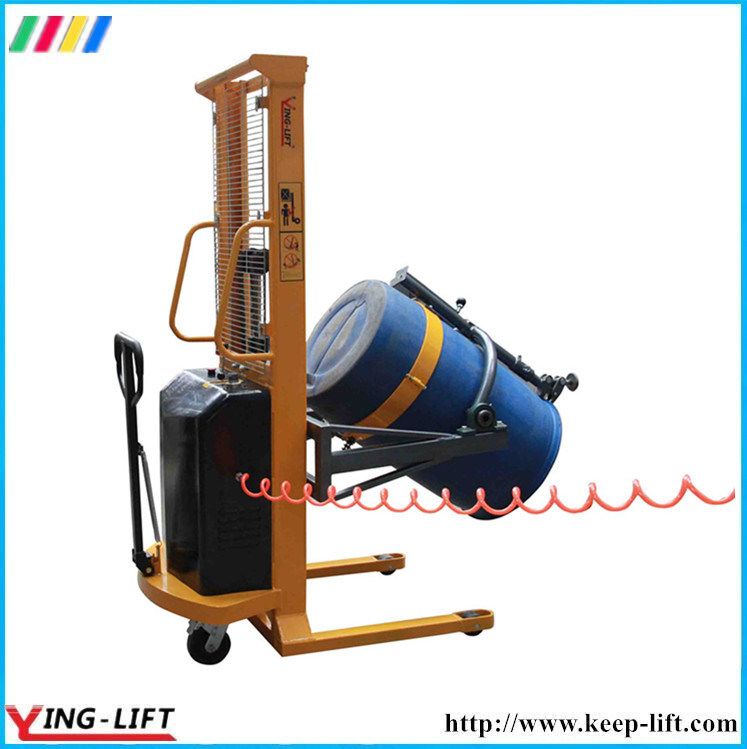 Pneumatia Lifting and Rotating Drum Rotator with 300kg Capacity Da300
