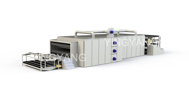 3-Layer Chemical Bonding Wadding Oven Machine