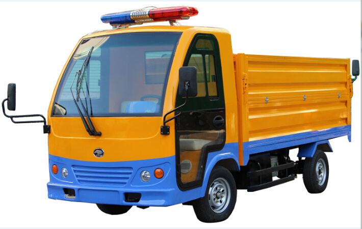 Dumping Vehicle Electric Garbage Truck